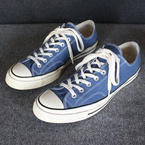 Converse Chuck 70s Low Top, Blue Navy, All Star